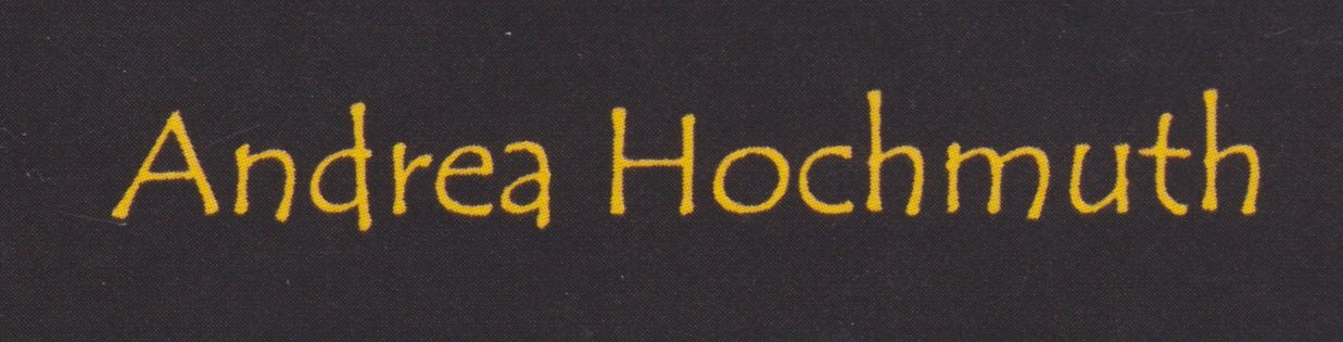 Visitenkarte Andrea Logo Crop Andrea Hochmuth